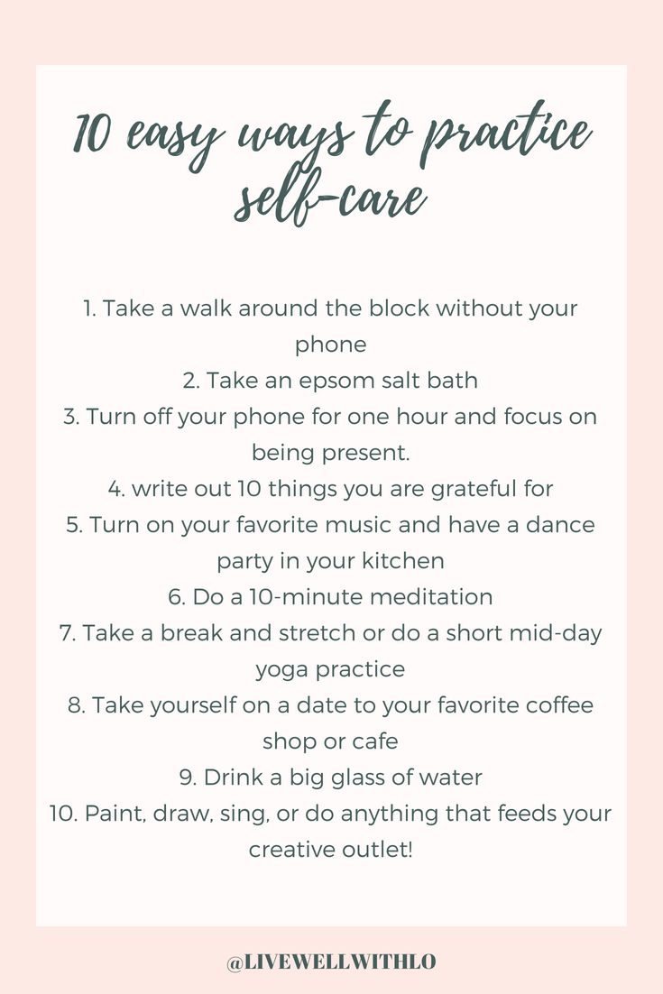 selfcarehabitsinspiration