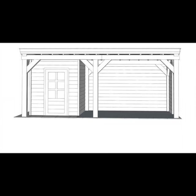 Making of.. a pseudo timberframe #timberframe #woodworking #houseandgarden #gardenhouse #roofterrace #solo #festool #hultafors #reciproa
