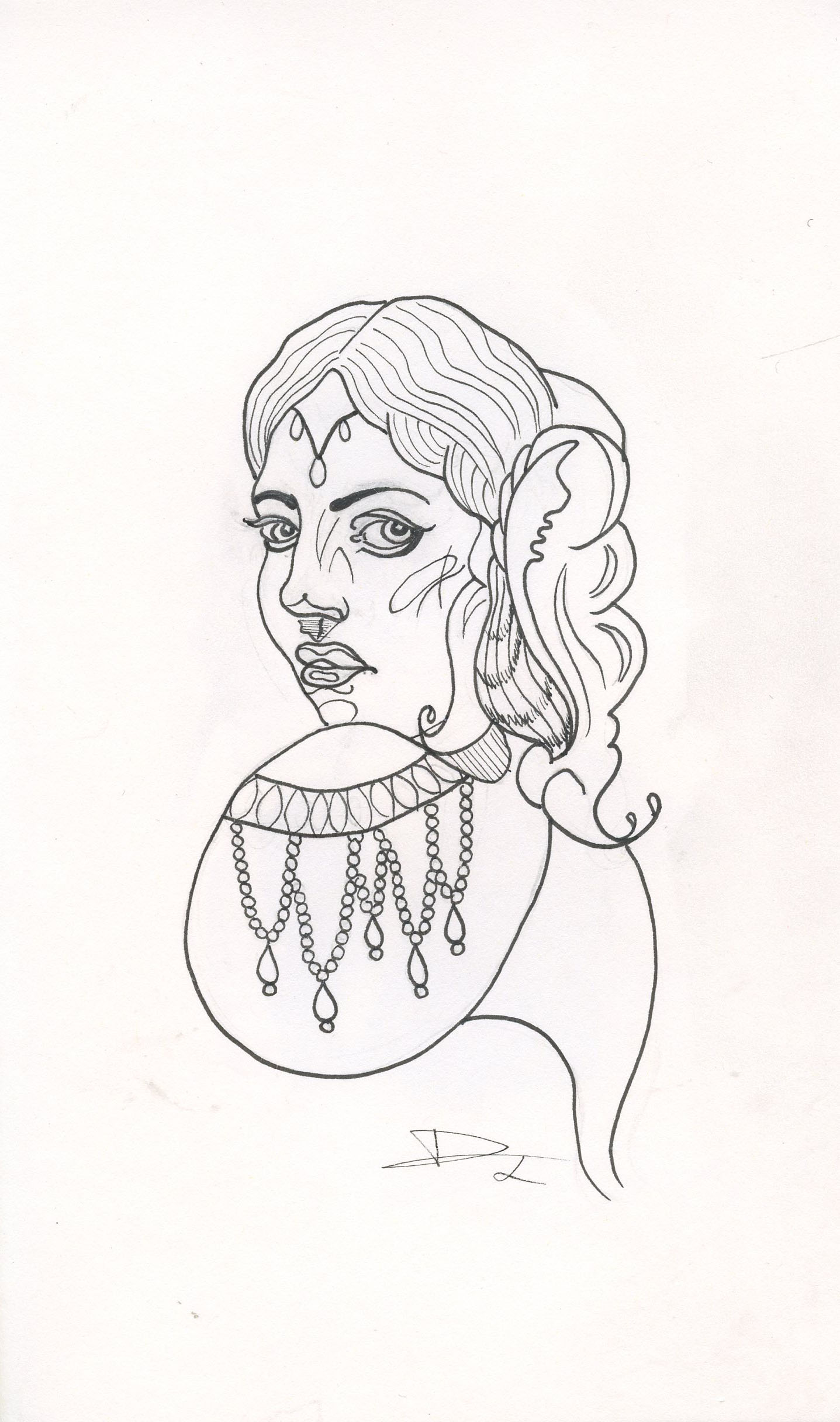 Neotraditional Woman