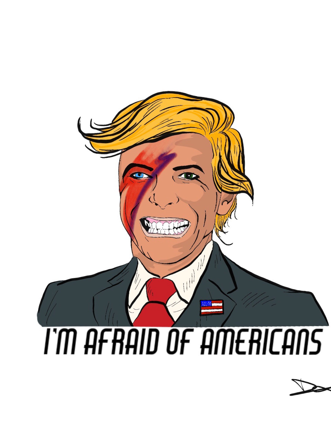 Afraid of Americans