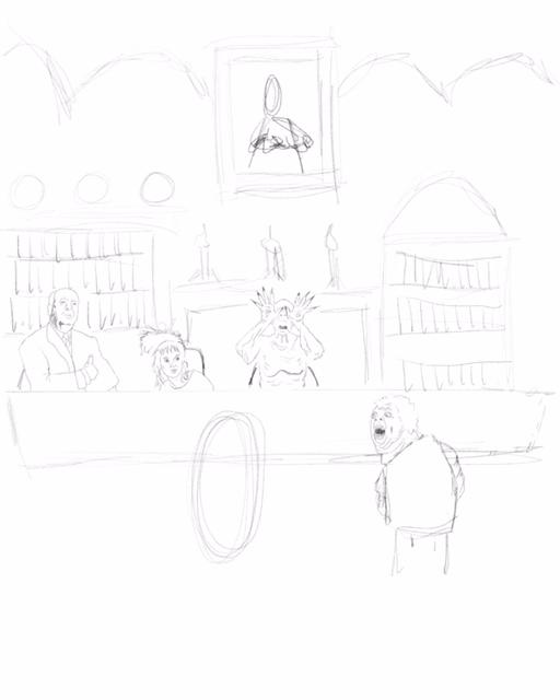 Dreams of Nightmares Sketch