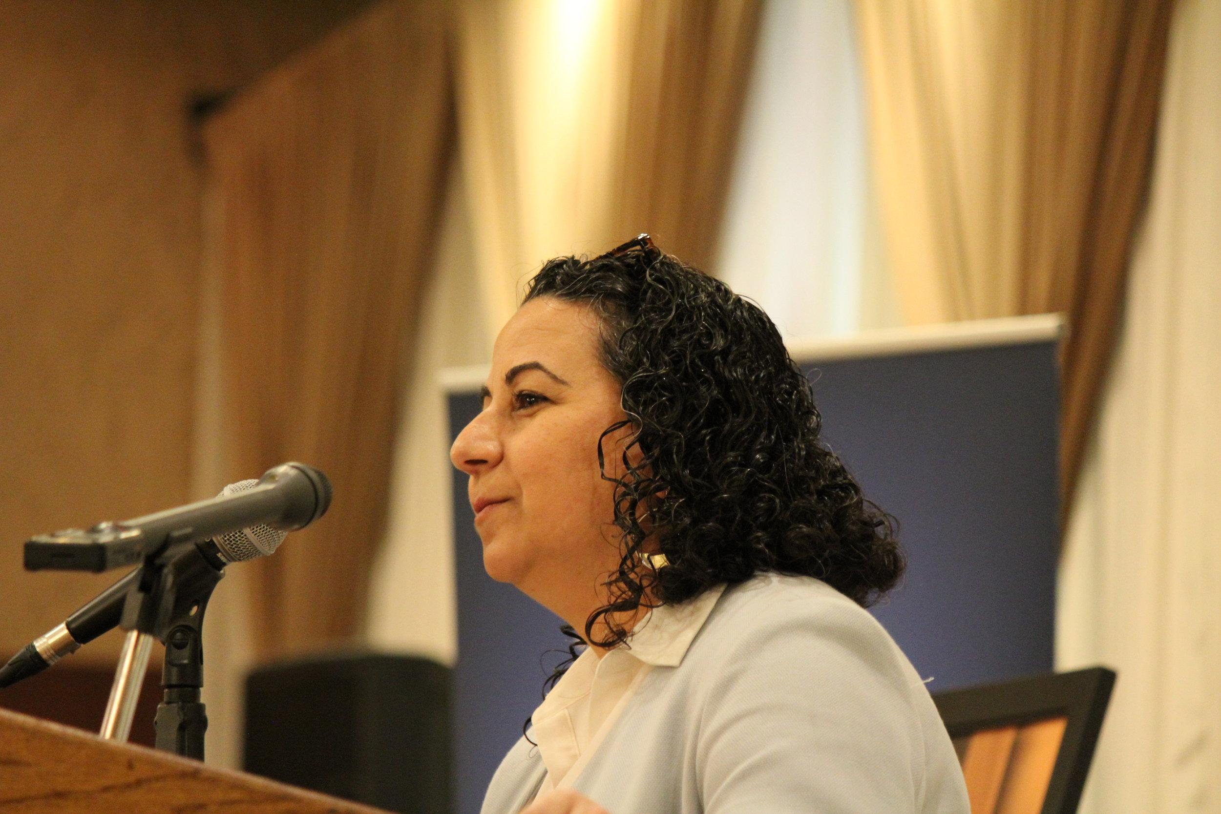 Arab American Institute Executive Director Maya Berry