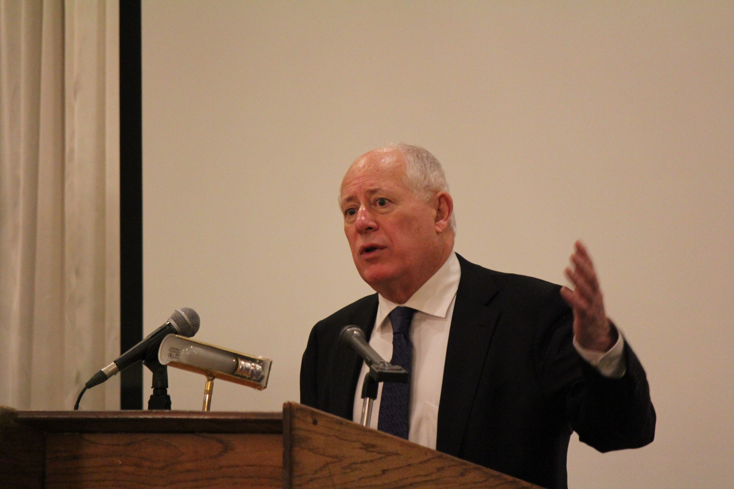 Former Governor Pat Quinn