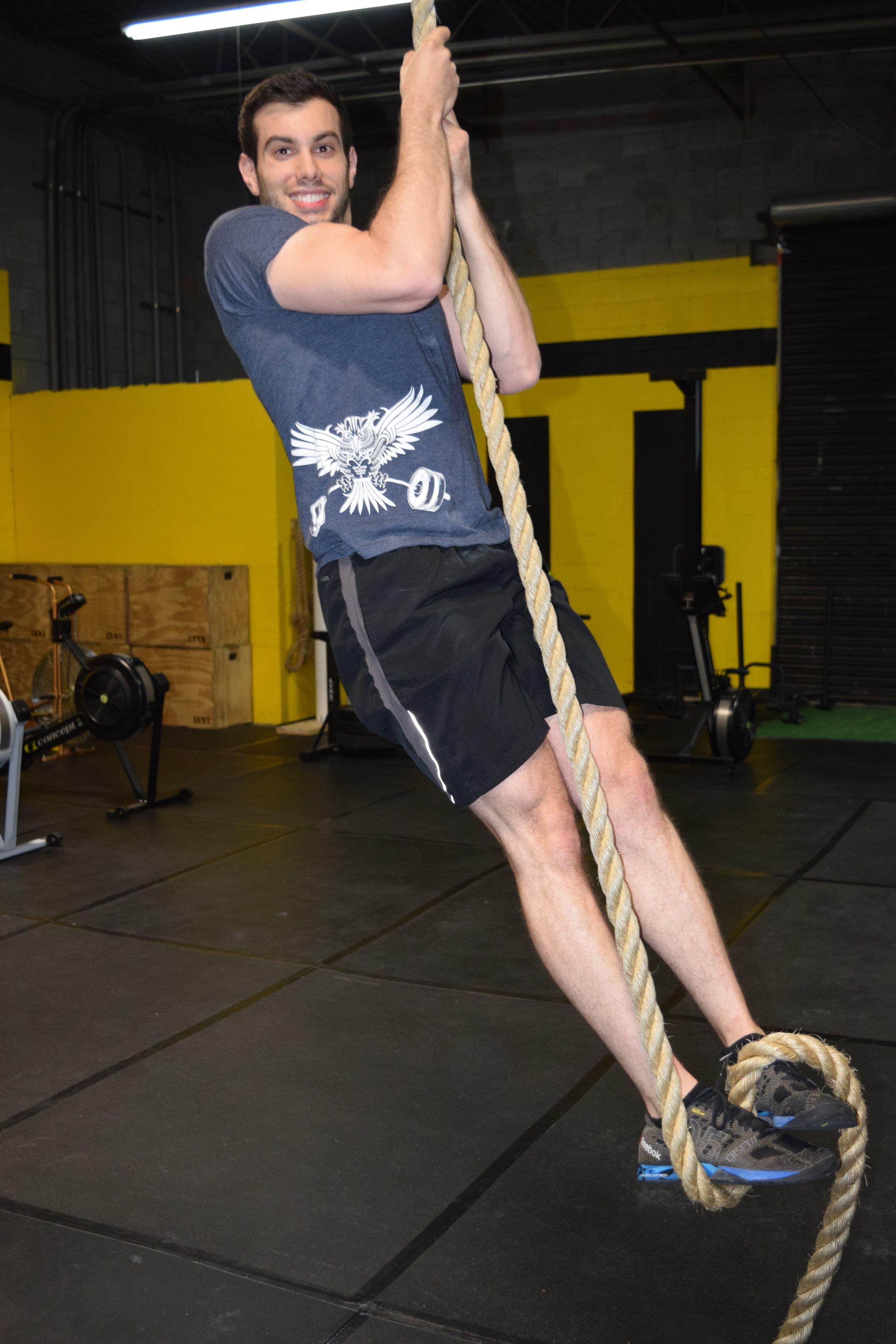 Rope Climb Smiles