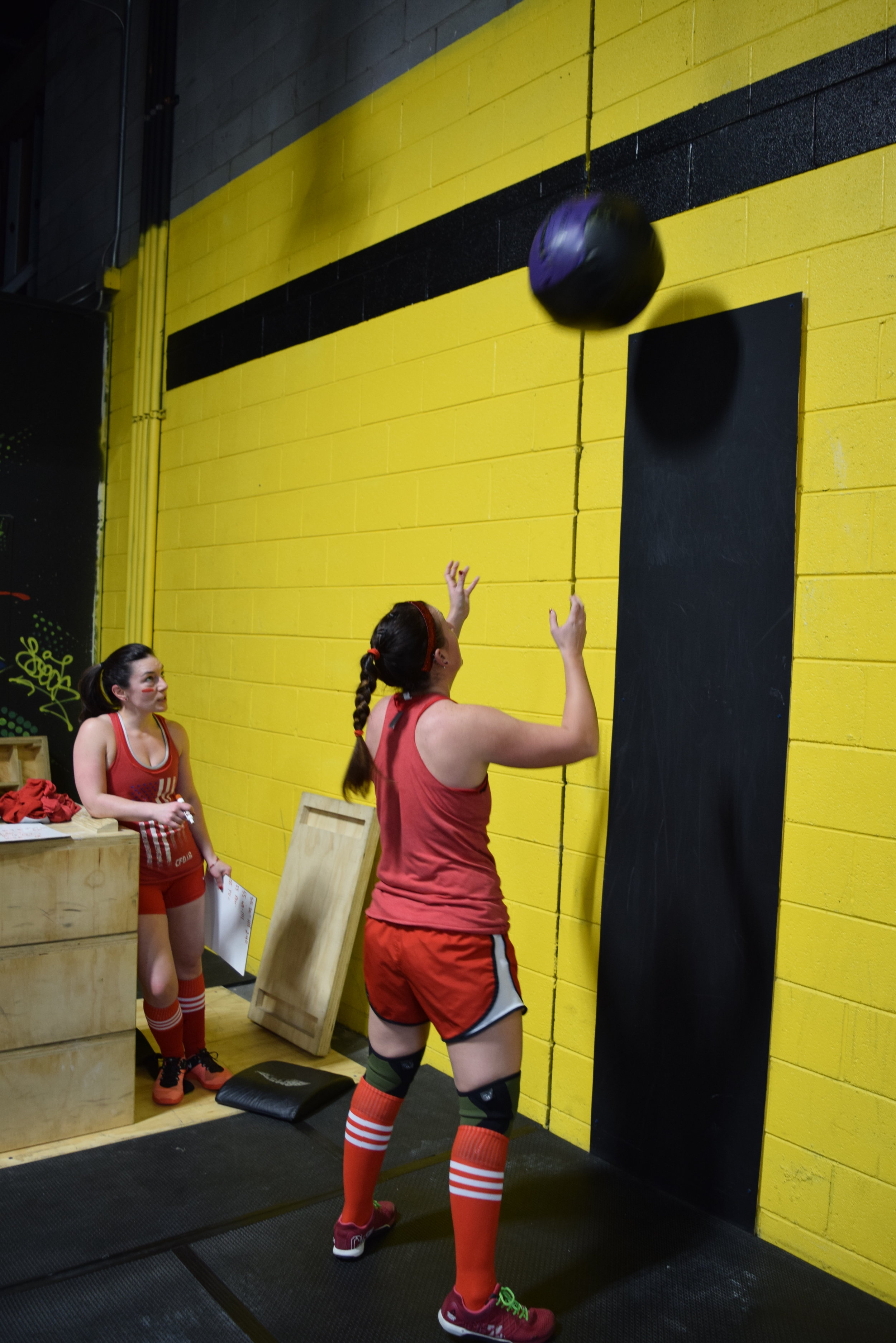 Jess Loves Wall Balls