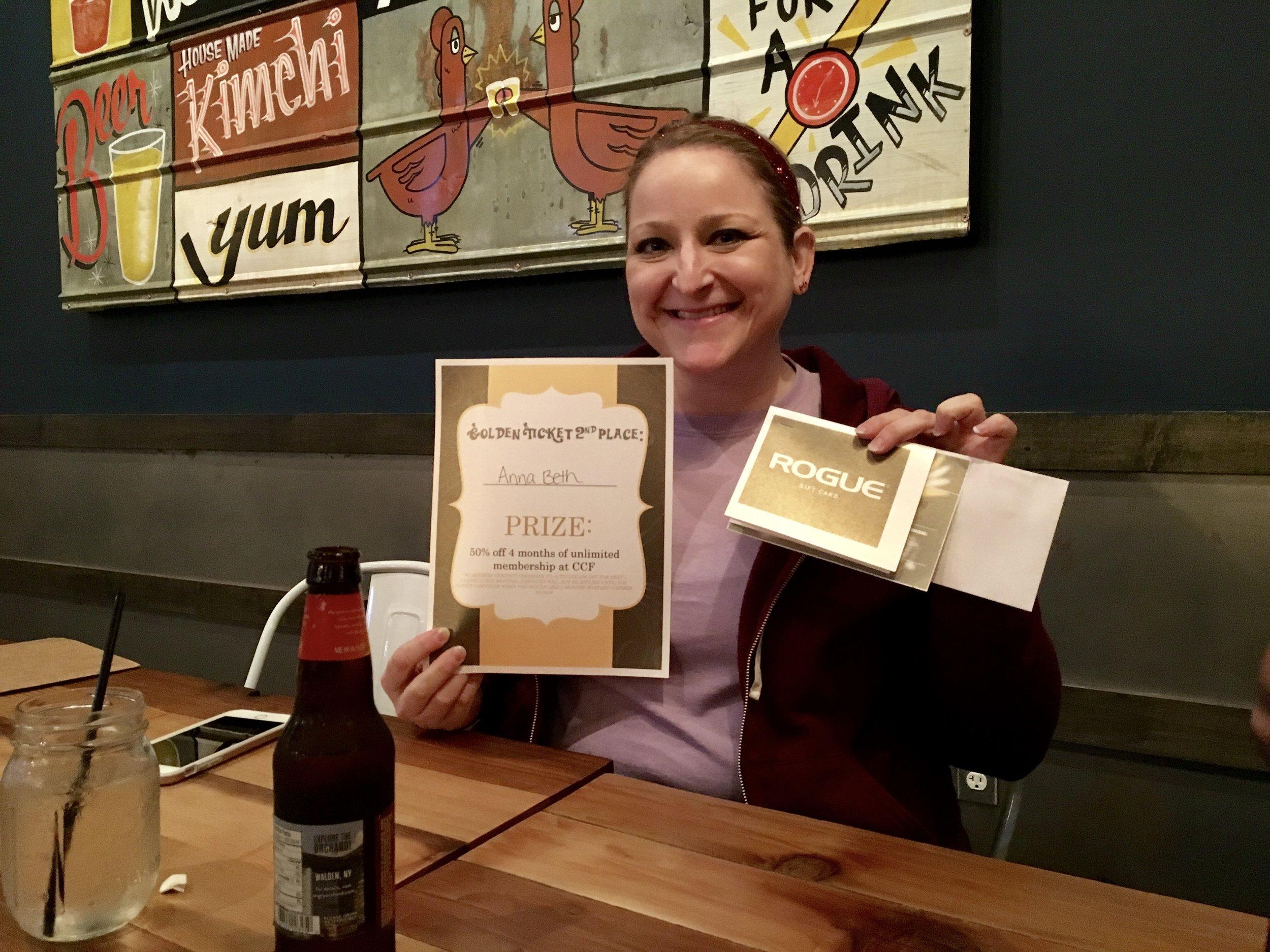 All the Prizes! Go Anna Beth!
