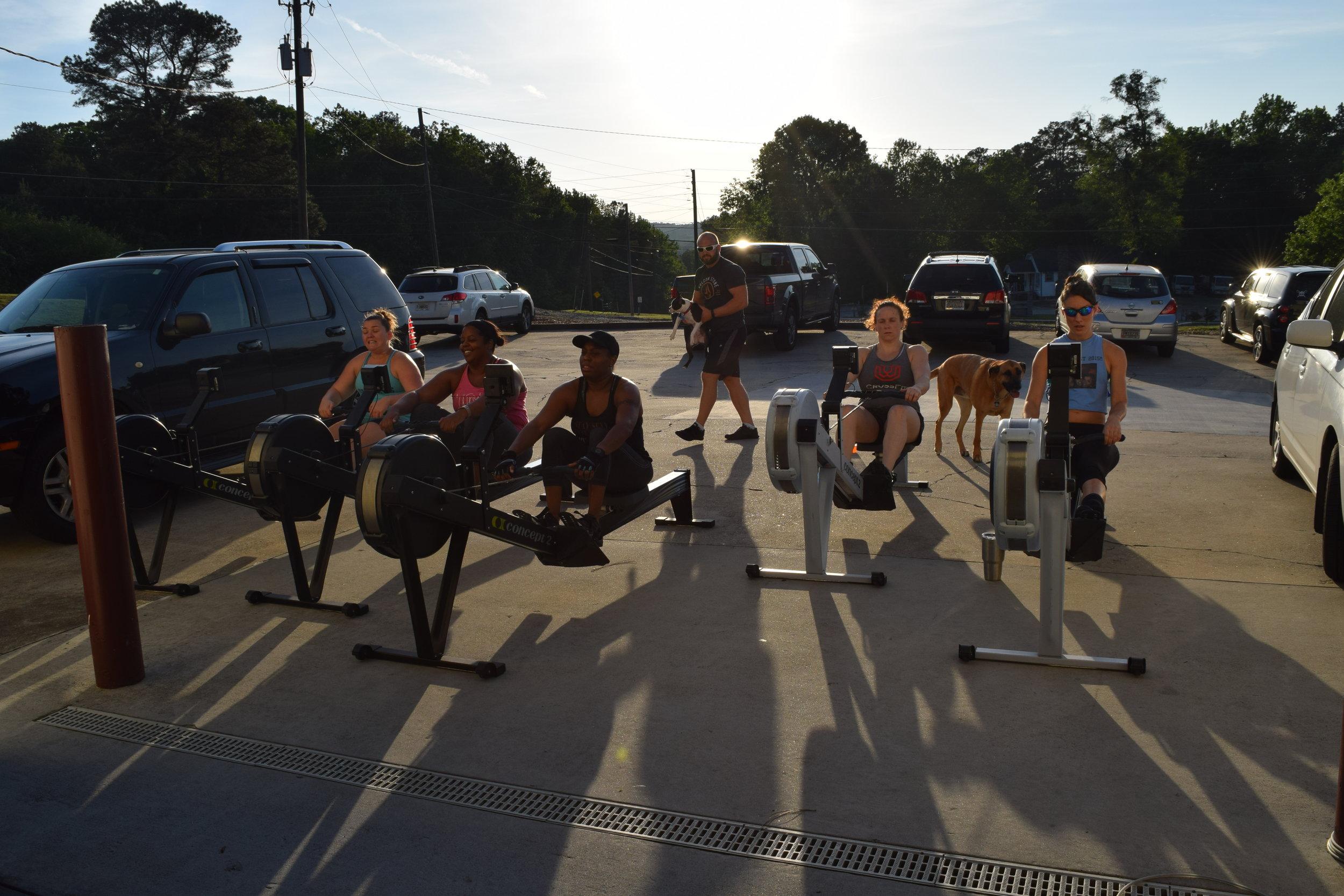 Post Workout Row Crew