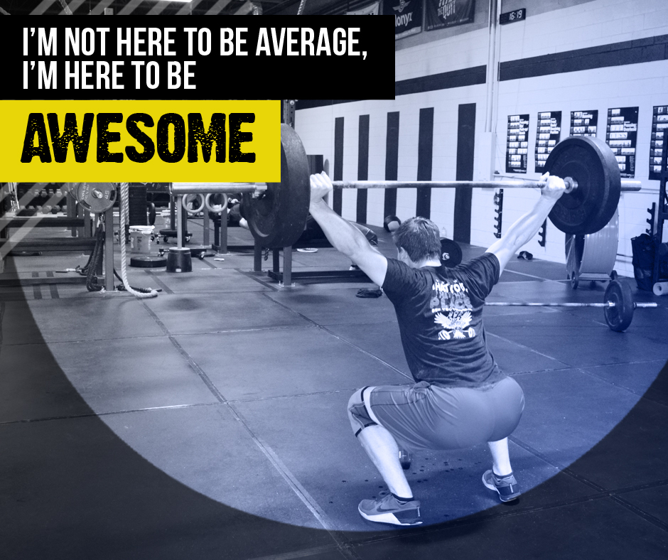 I'm here to be awesome!