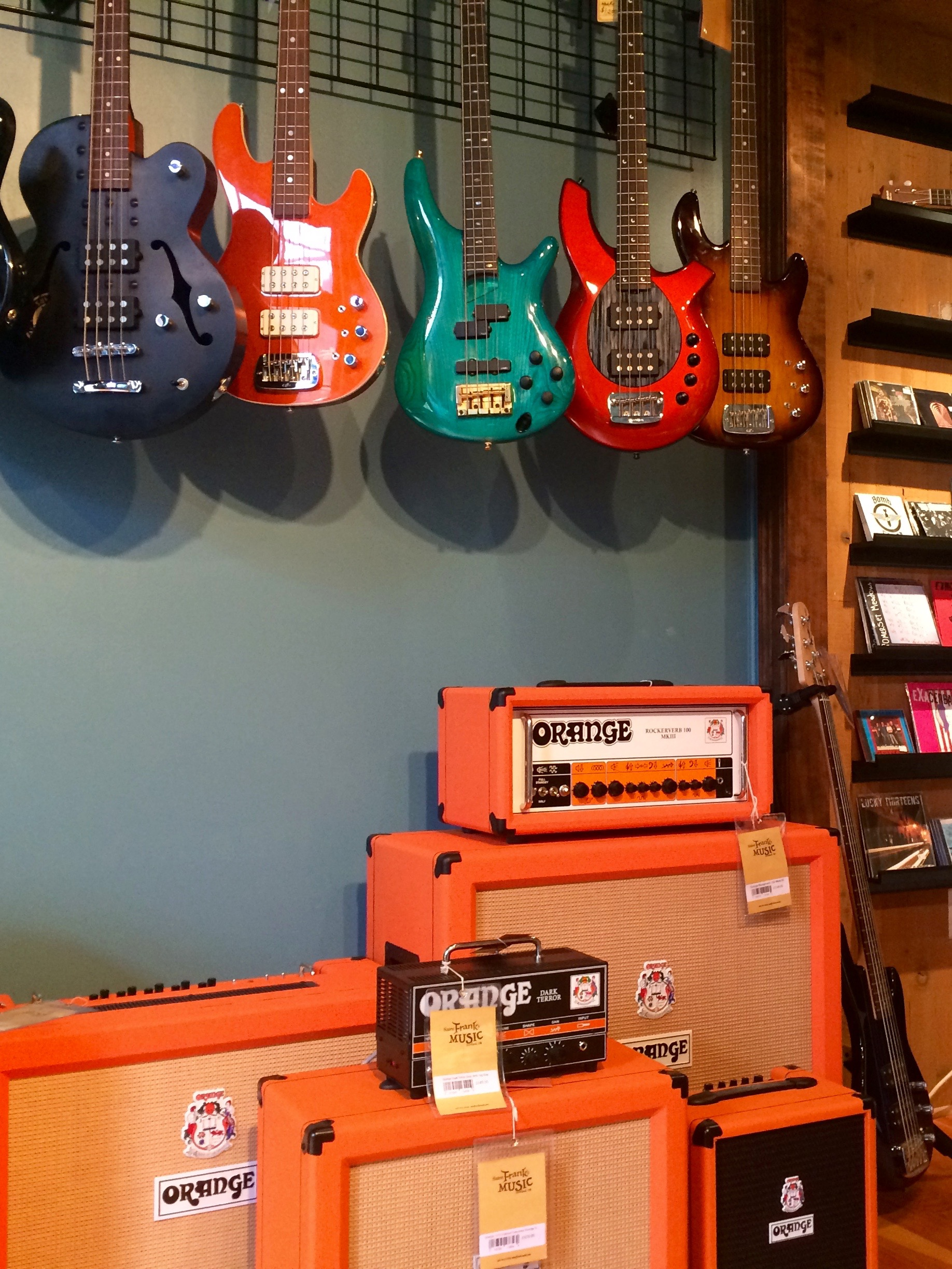 We will be carrying Orange Amps