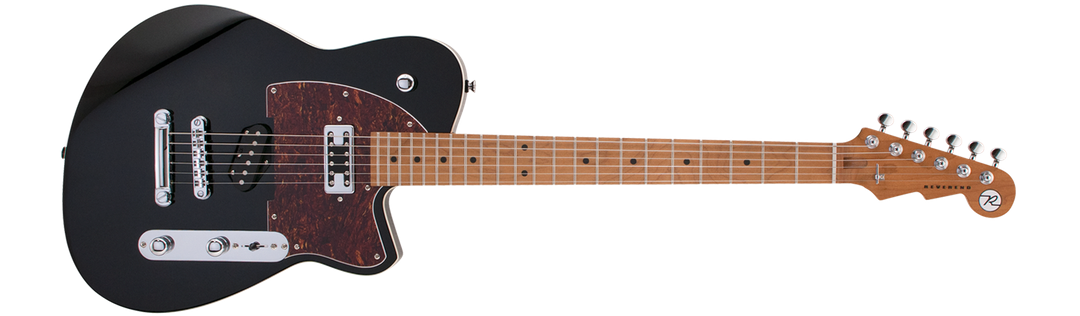 Buckshot Black With Roasted Maple Neck