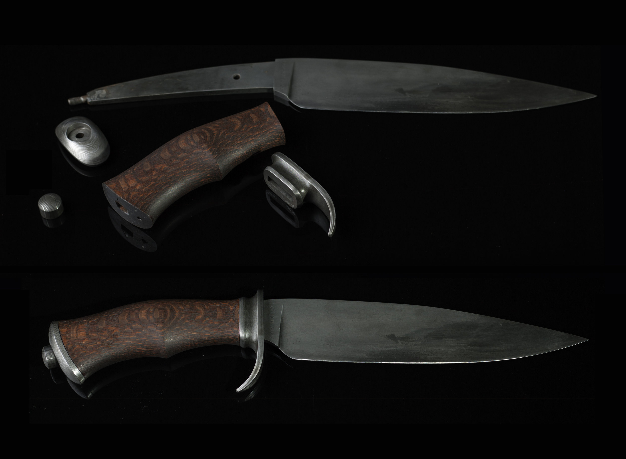 "The Lockhart Knives ""Takedown Fighter"" - $2200"