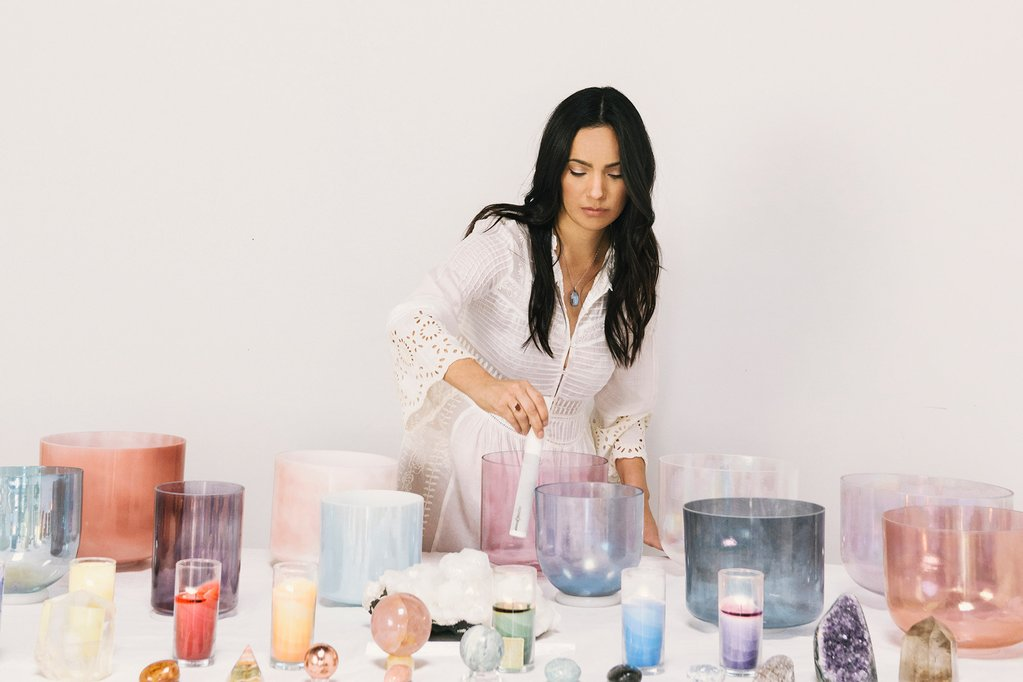 Arlene attended the global sound conference in 2015 and was instantly inspired to lead others back to their natural vibrational being, through the healing powers of sound. With the alchemy crystal singing bowls she has been able to help others begin to balance their energetic centers, create inner harmony, and most importantly tap into a space where they can access the subconscious realms where deep seated healing can take place.