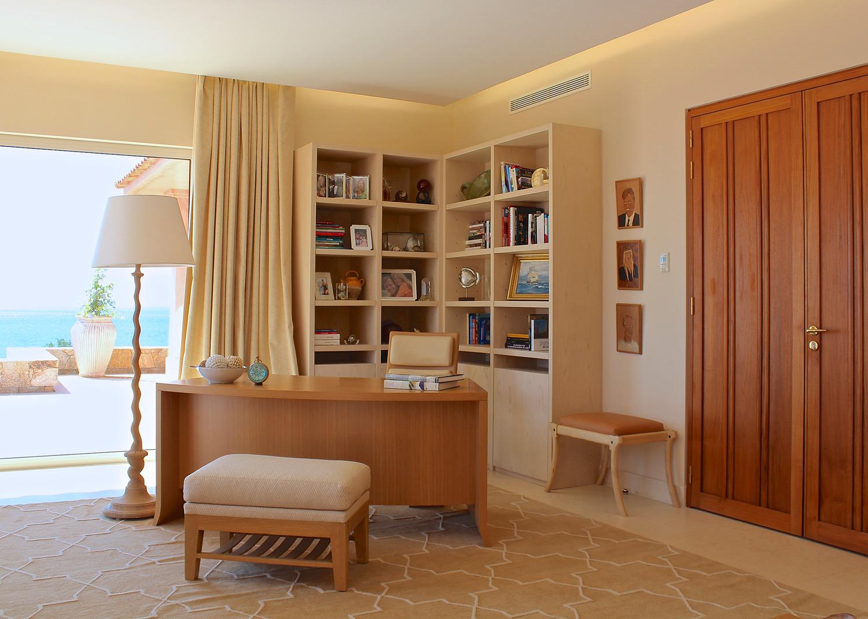 Corsica Mediterranean Villa by Lotus Bleu Design