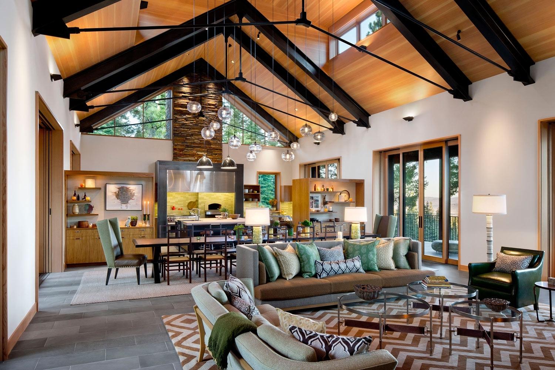 Martis Camp Tahoe Retreat by Lotus Bleu Design