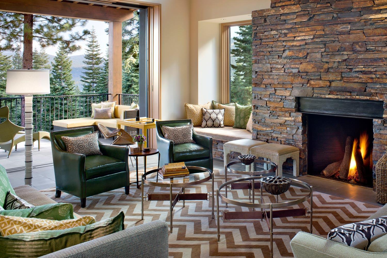 Martis Camp Tahoe Retreat  | Lotus Bleu Design