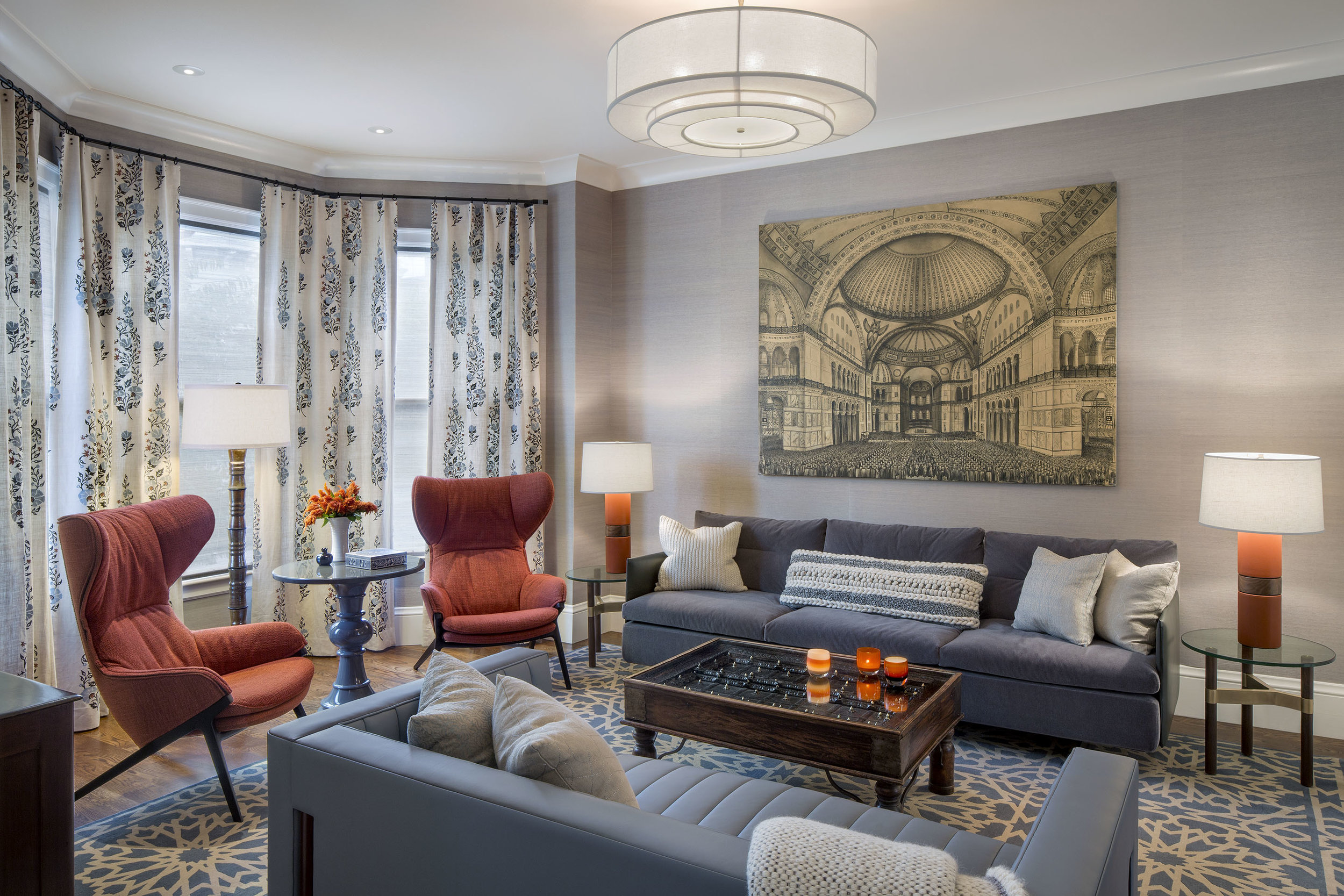 Urban Edwardian with Global Flair by Lotus Bleu Design