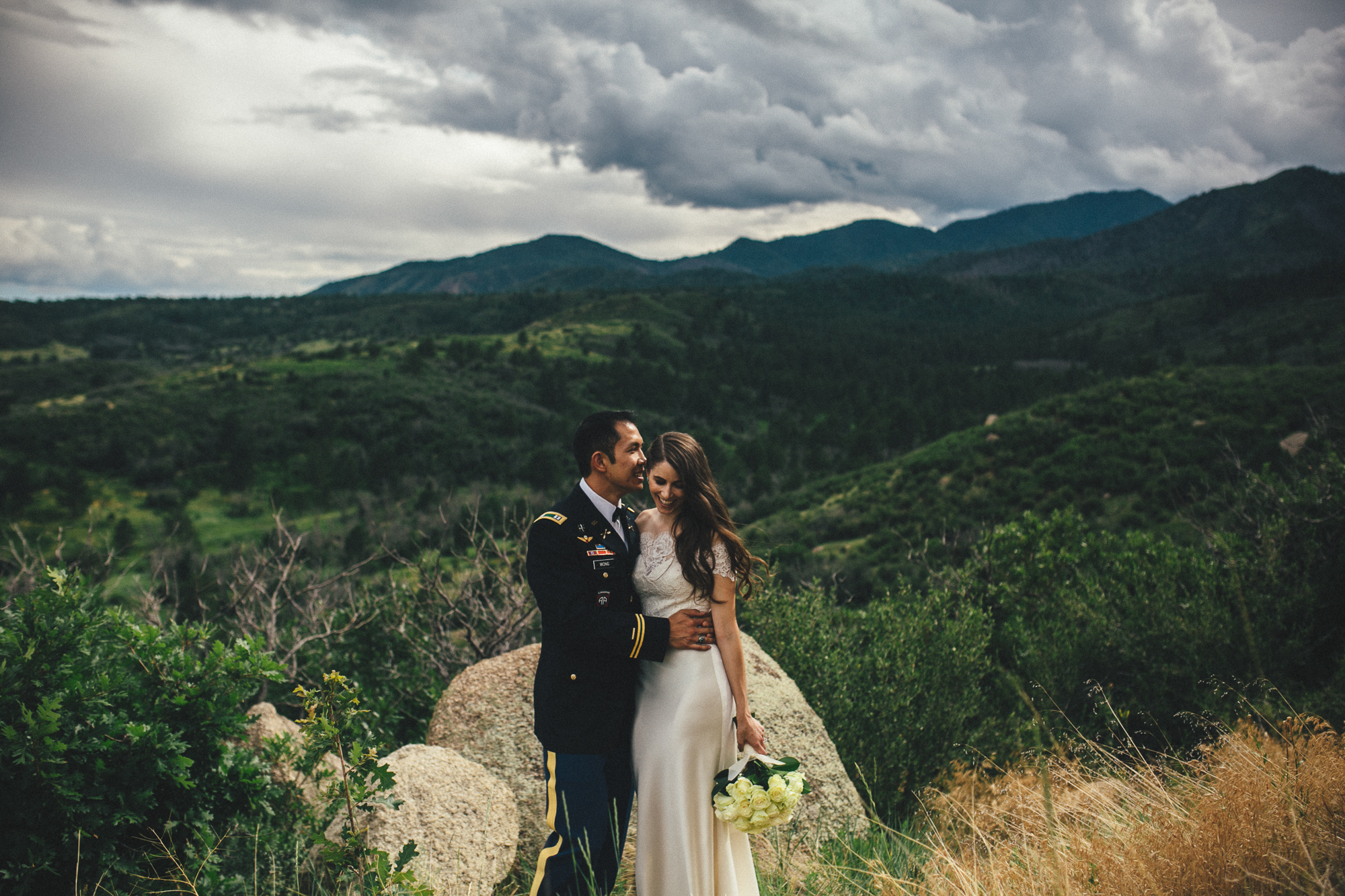 Cheyenne Mountain Wedding Photographer