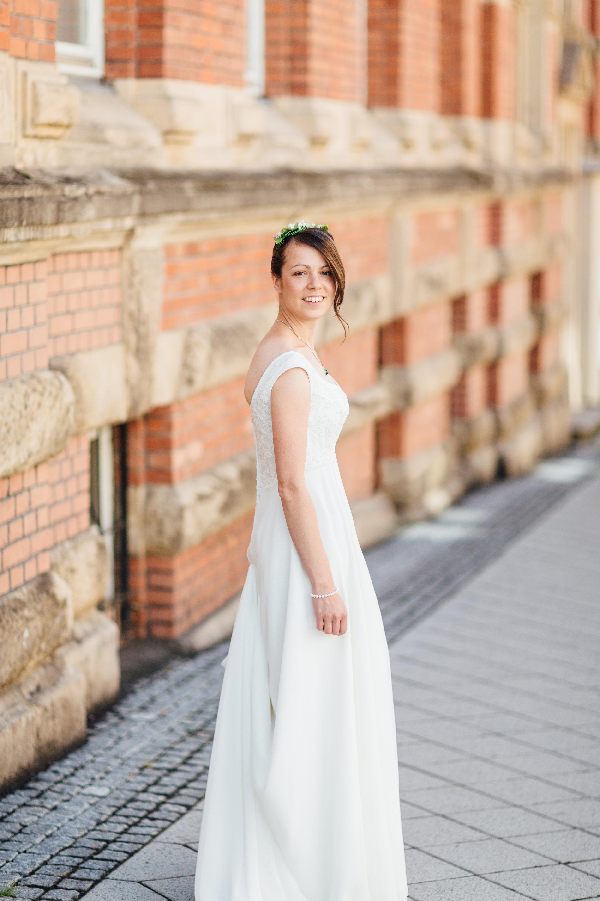 germany destination wedding photography bridal portrait