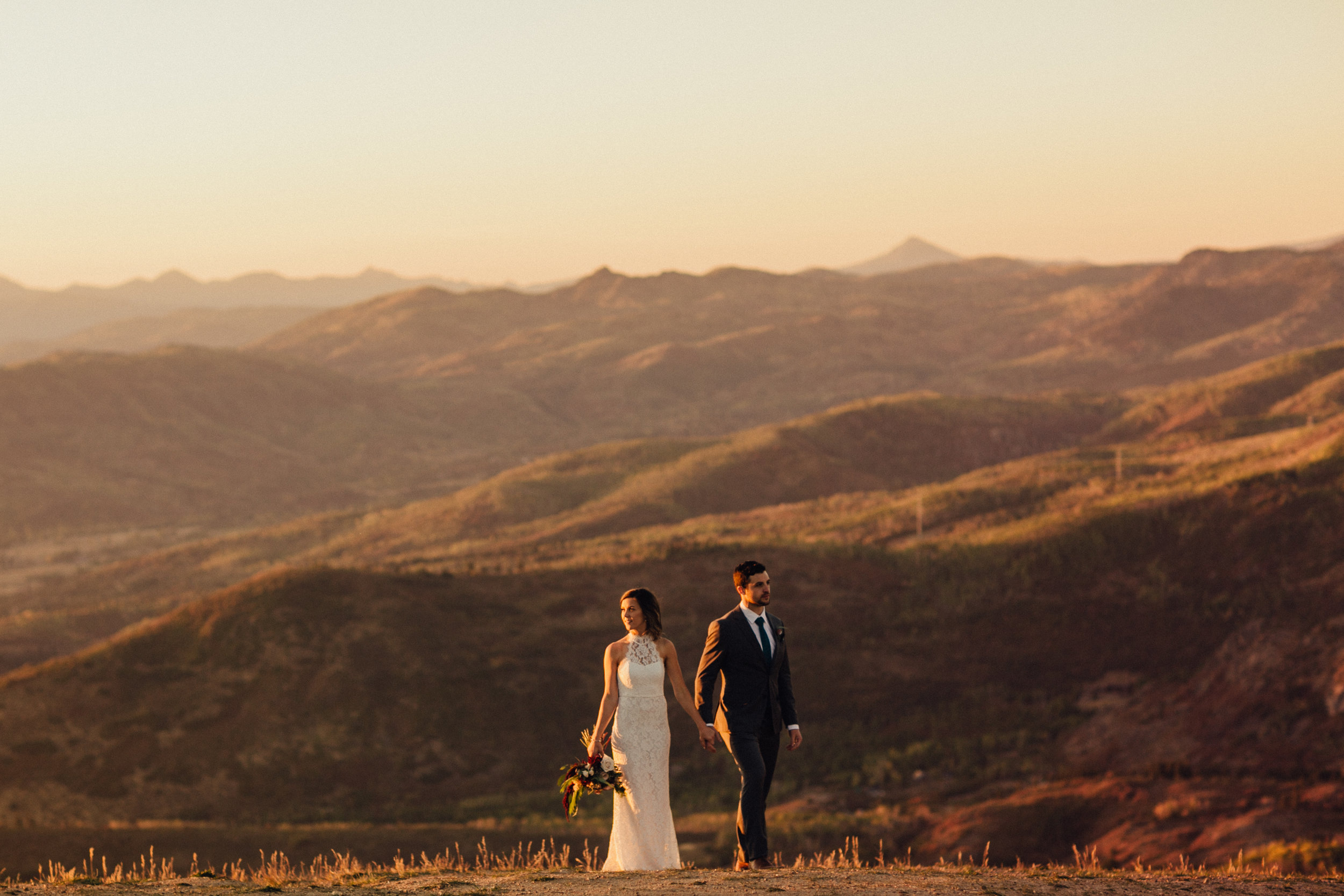 Steamboat Colorado Outdoor Candid Wedding Photography