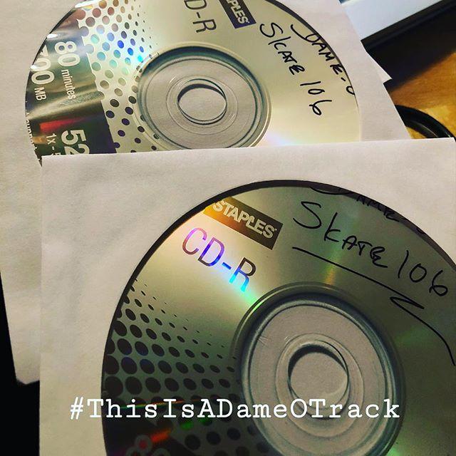 For the Nostalgia... #OnDeck #Letsgetit  #ThisIsADameOTrack