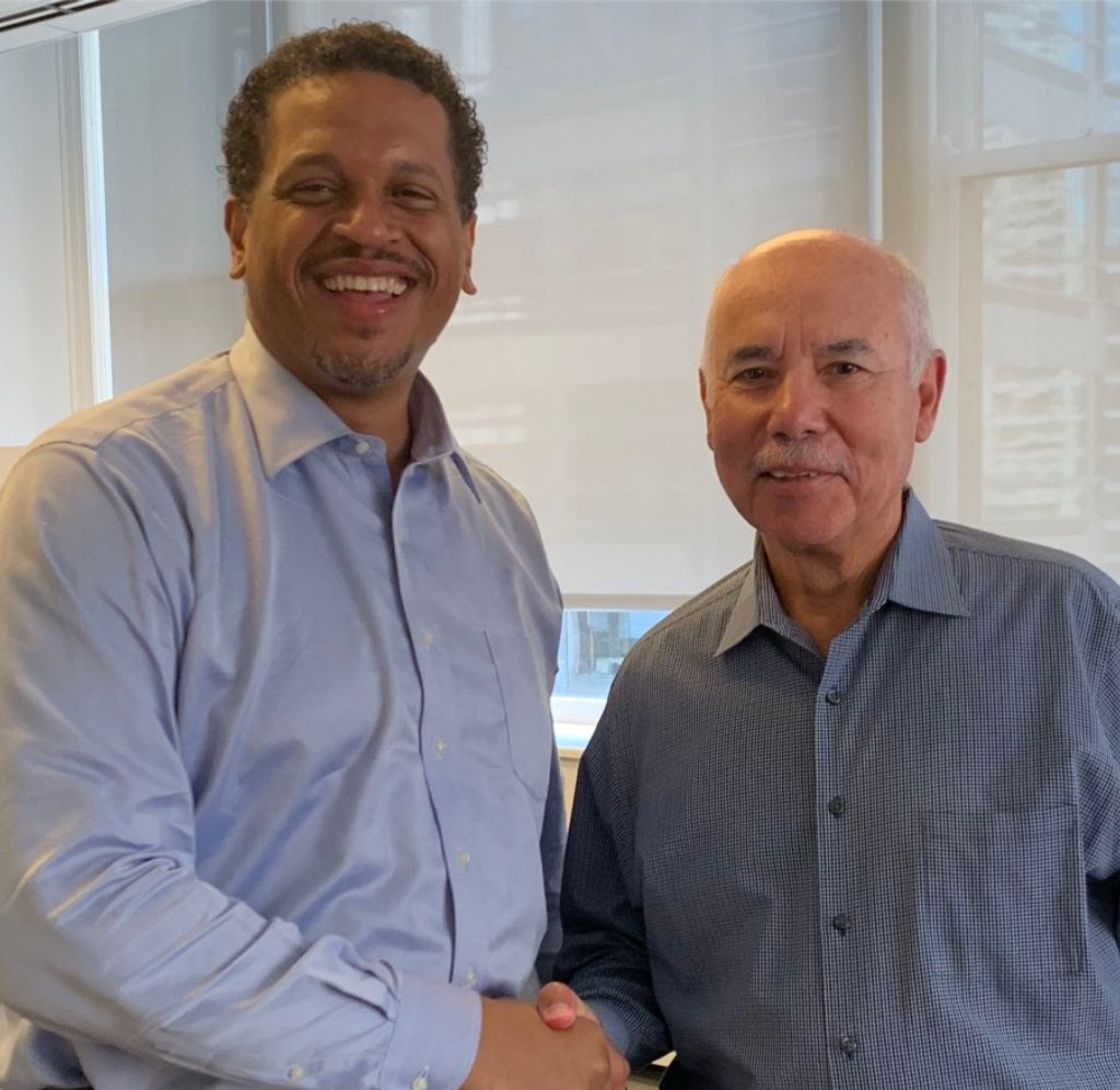 CPAA President, Troy LaRaviere, and CBOE President Miguel del Valle.