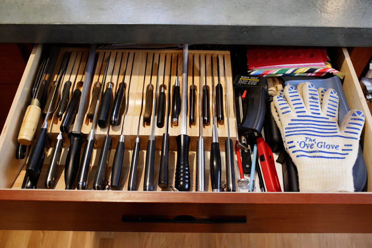 Knife Storage Diane Morgan Cooks