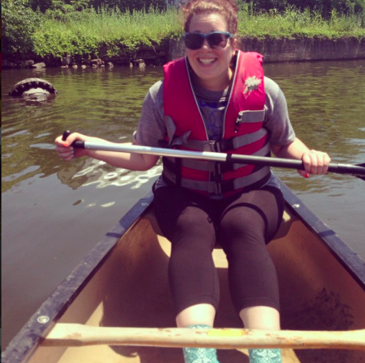 Canoeing in the Gowanus. Ill-advised? Maybe.
