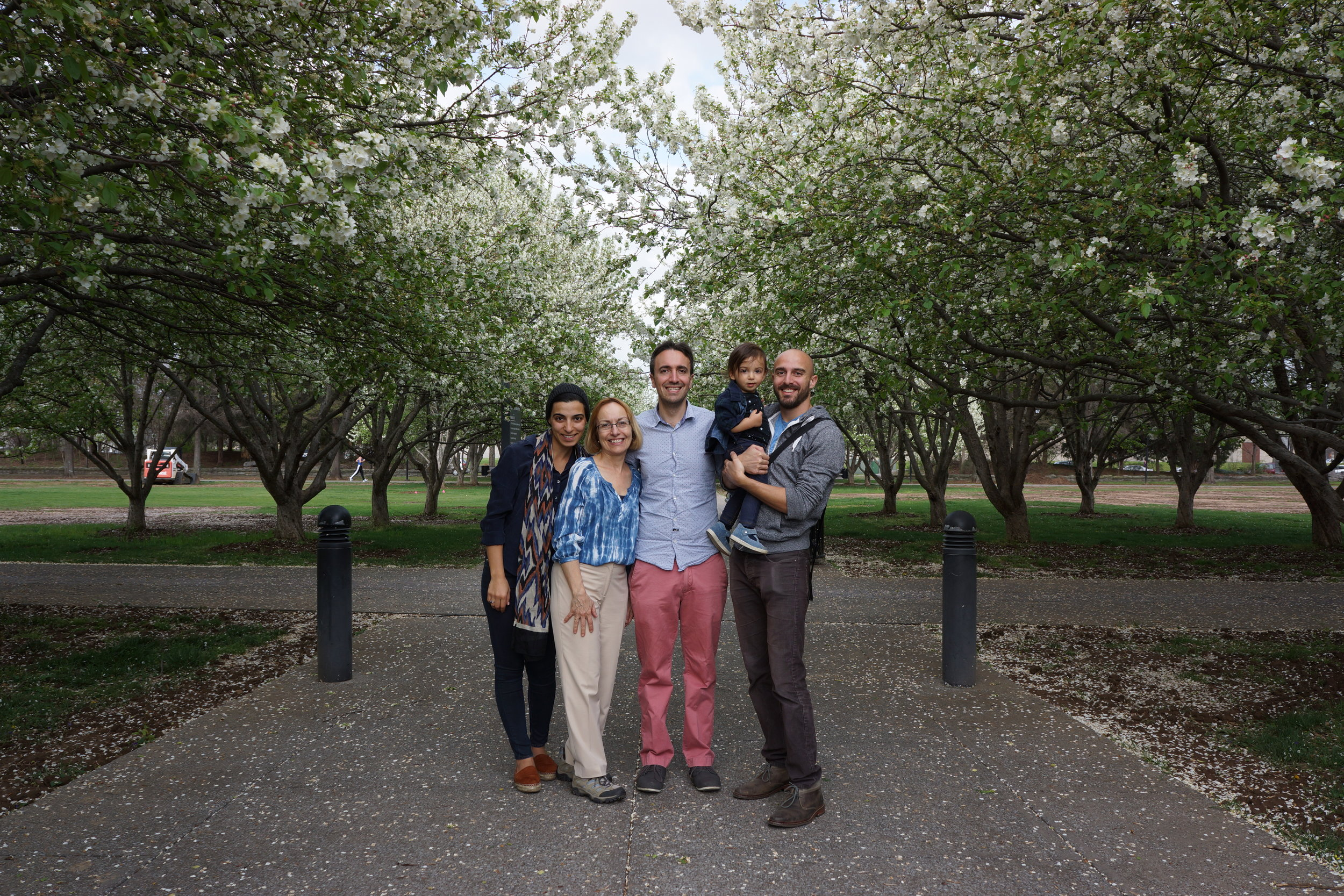 family photo - bicentennial park
