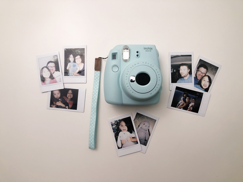 Fujifilm instax mini 9 with prints