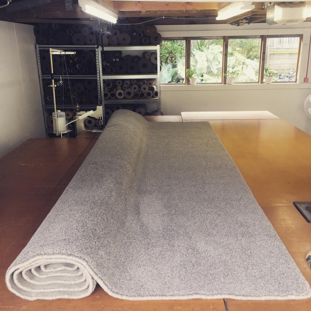 Large Carpet Mats by Hibiscus Mats Carpet Overlocking are ideal for softening & warming wooden floors in family rooms