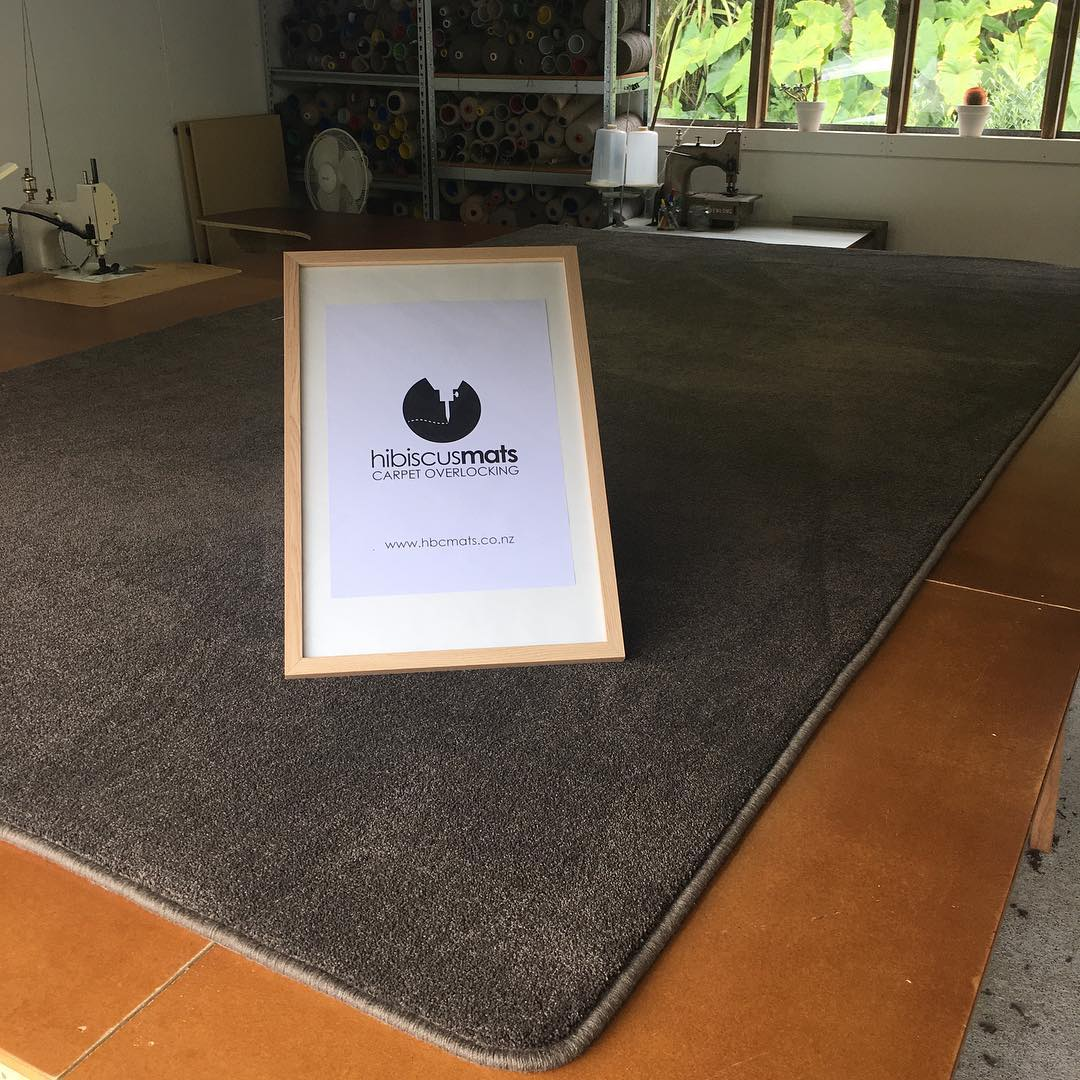Rent a House?  Oversize carpet mats by Hibiscus Mats Carpet Overlocking are the perfect solution to carpeting a room.