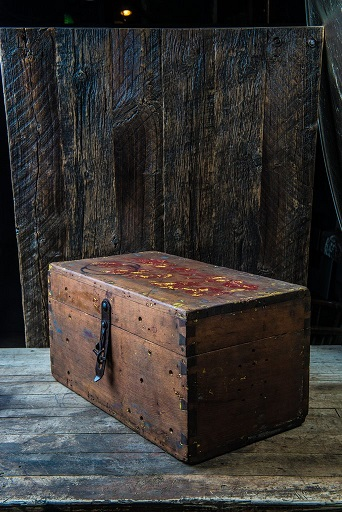 Hell on Wheels wooden box