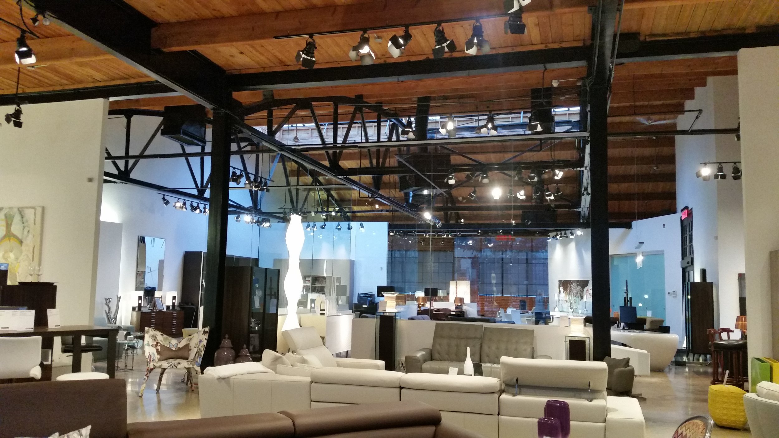Roche Bobois Calgary showroom