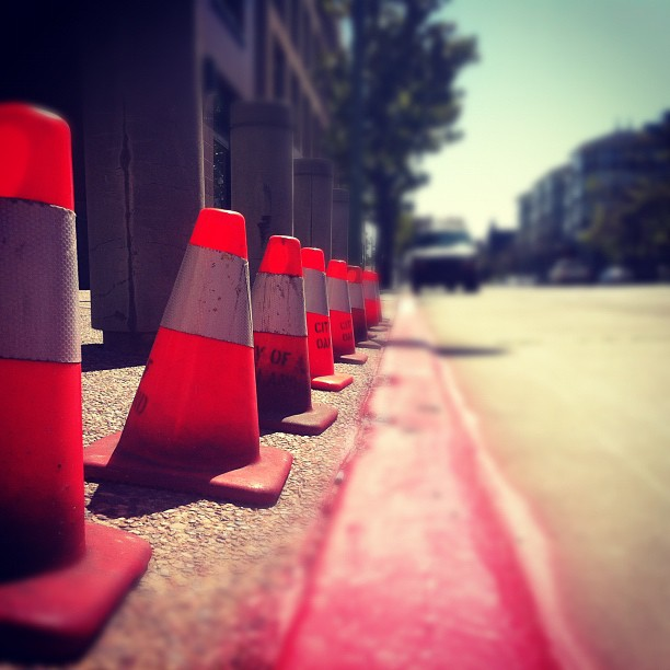 Cones. (Taken with  instagram )