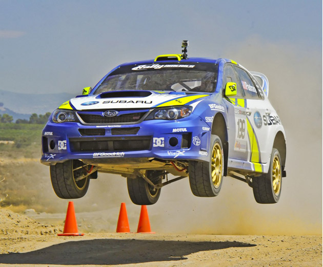 I'm more of a Mitsubishi guy myself, but these are pretty sweet.    Subaru releases 2011 rally cars at X-Games — Autoblog