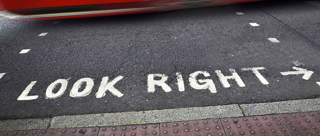 In the United States, when we cross the street, we instinctively look to the left to check for oncoming traffic.  When US travelers visit London or one of the many other countries where drivers keep to the left side of the roads, often times they will look left and erroneously assume that no traffic is coming.