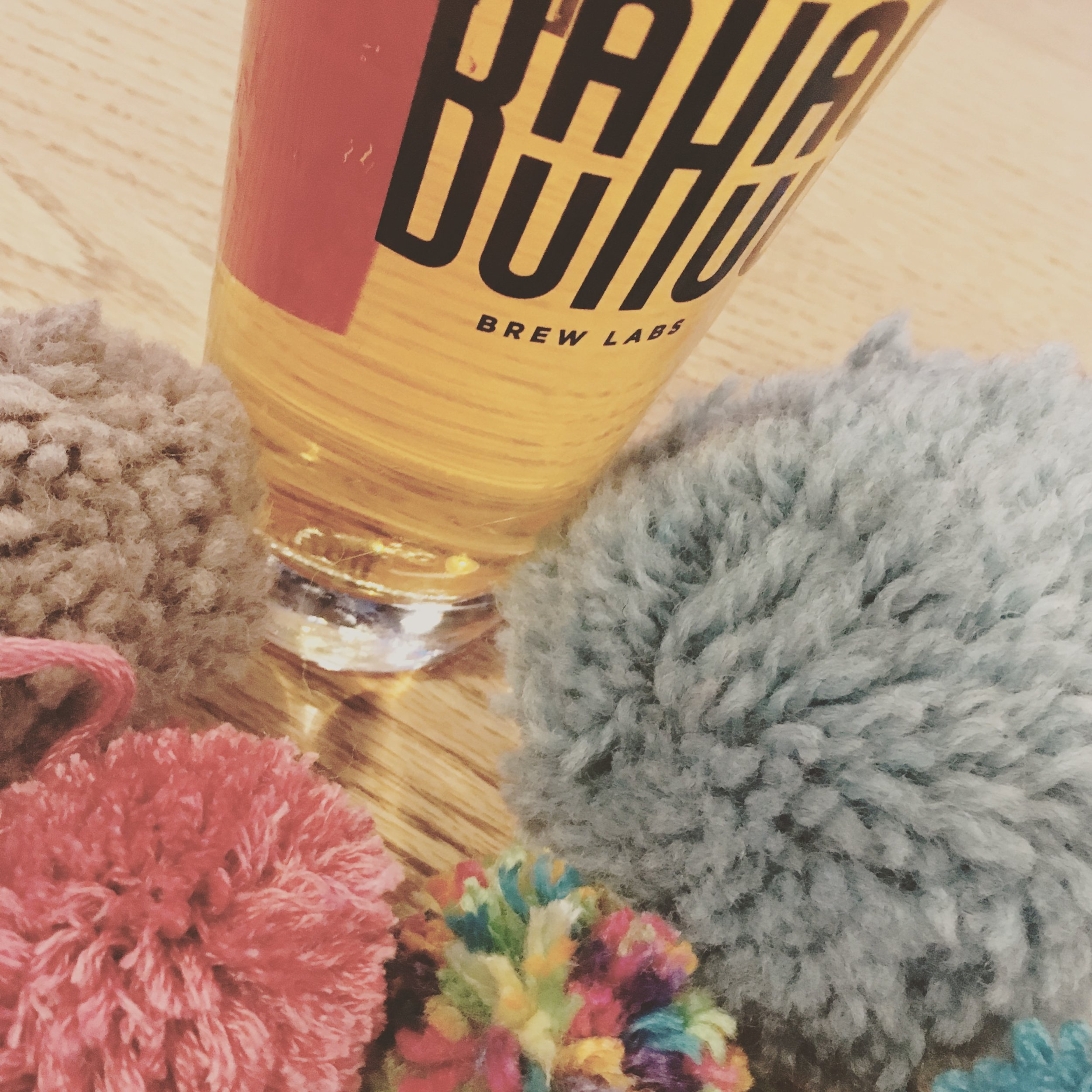 Craft beer and knitting? Yes! We also teach and provide supplies/inspiration for crochet, weaving, yarn spinning and jewelry making.