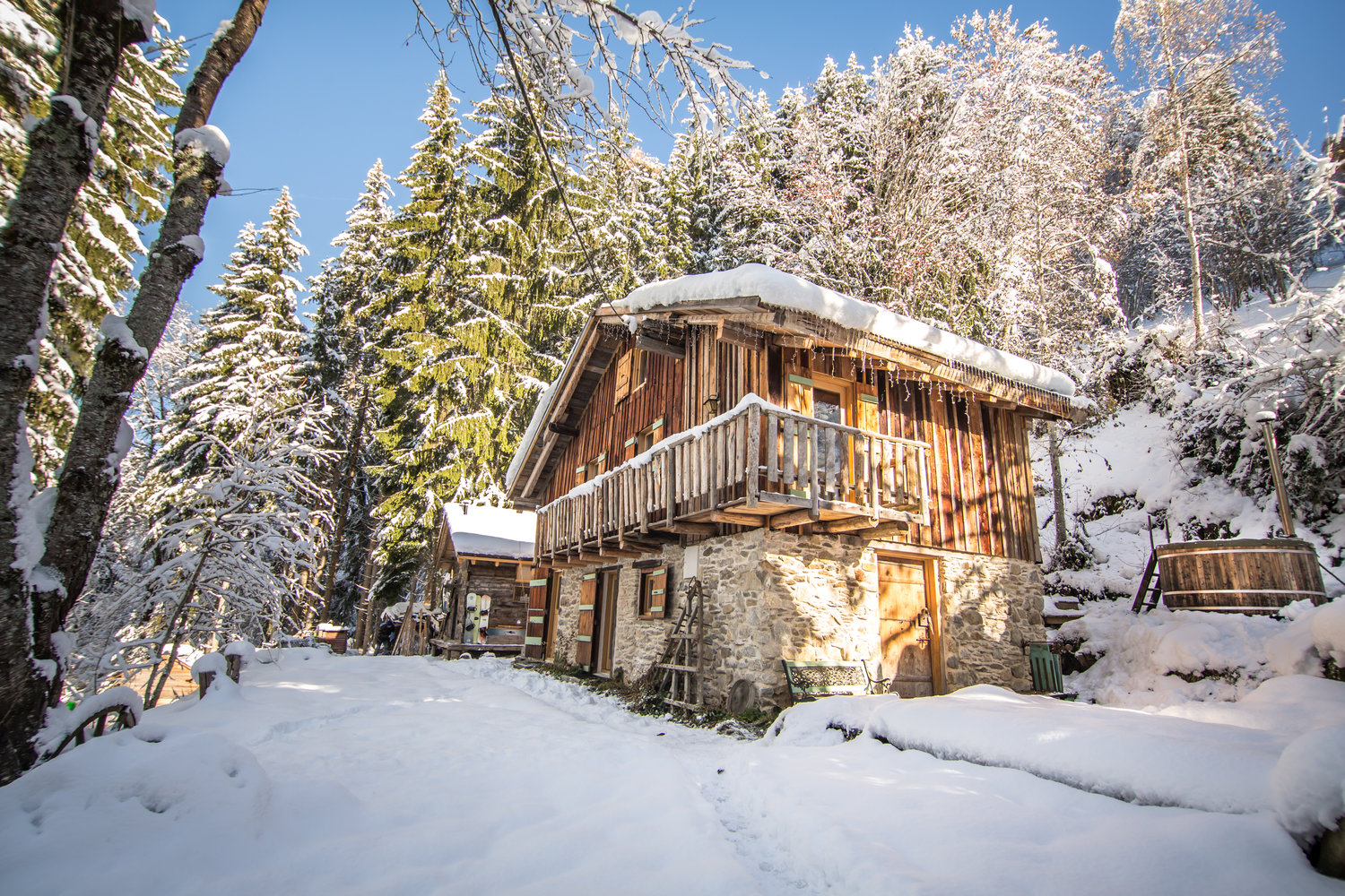 Le Refuge Megeve Architecte things to do at chalet f'net — chillderness