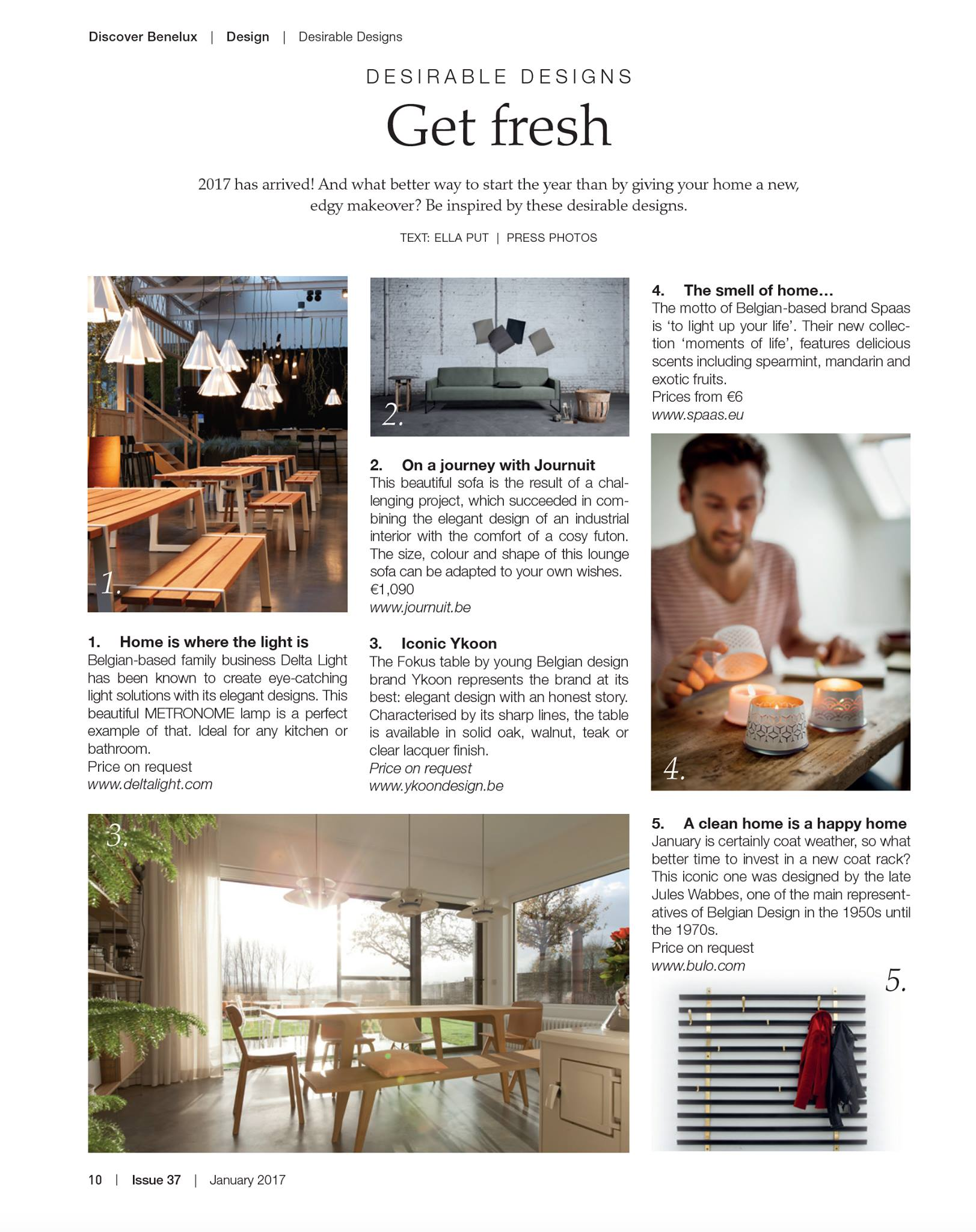 DISCOVER BENELUX 01/2017