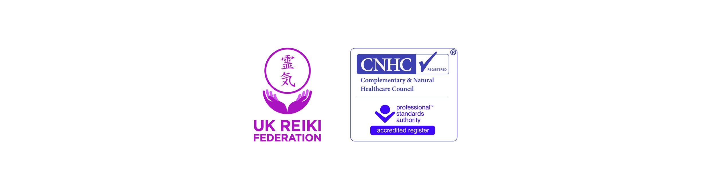 UK Reiki Federation Member  +  Complementary & Natural Healthcare Council (CHNC) Registered