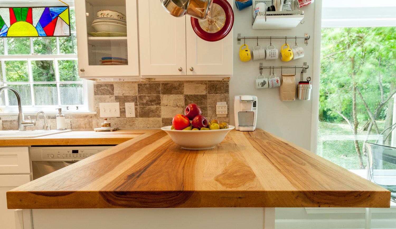 Hickory Counter Tops — Follen Wood