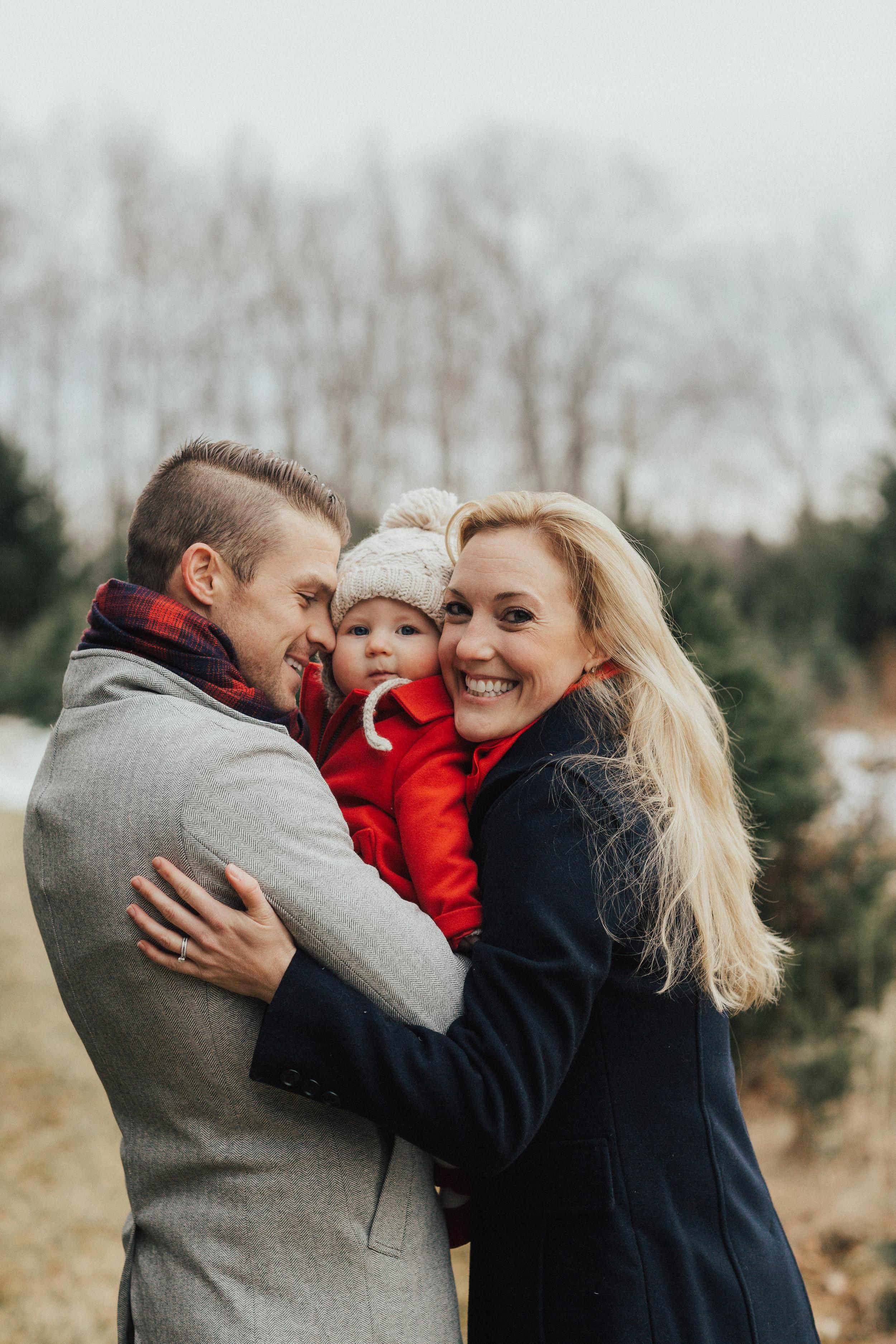 Dziama Family Tonry Tree Farm Kiely Photography