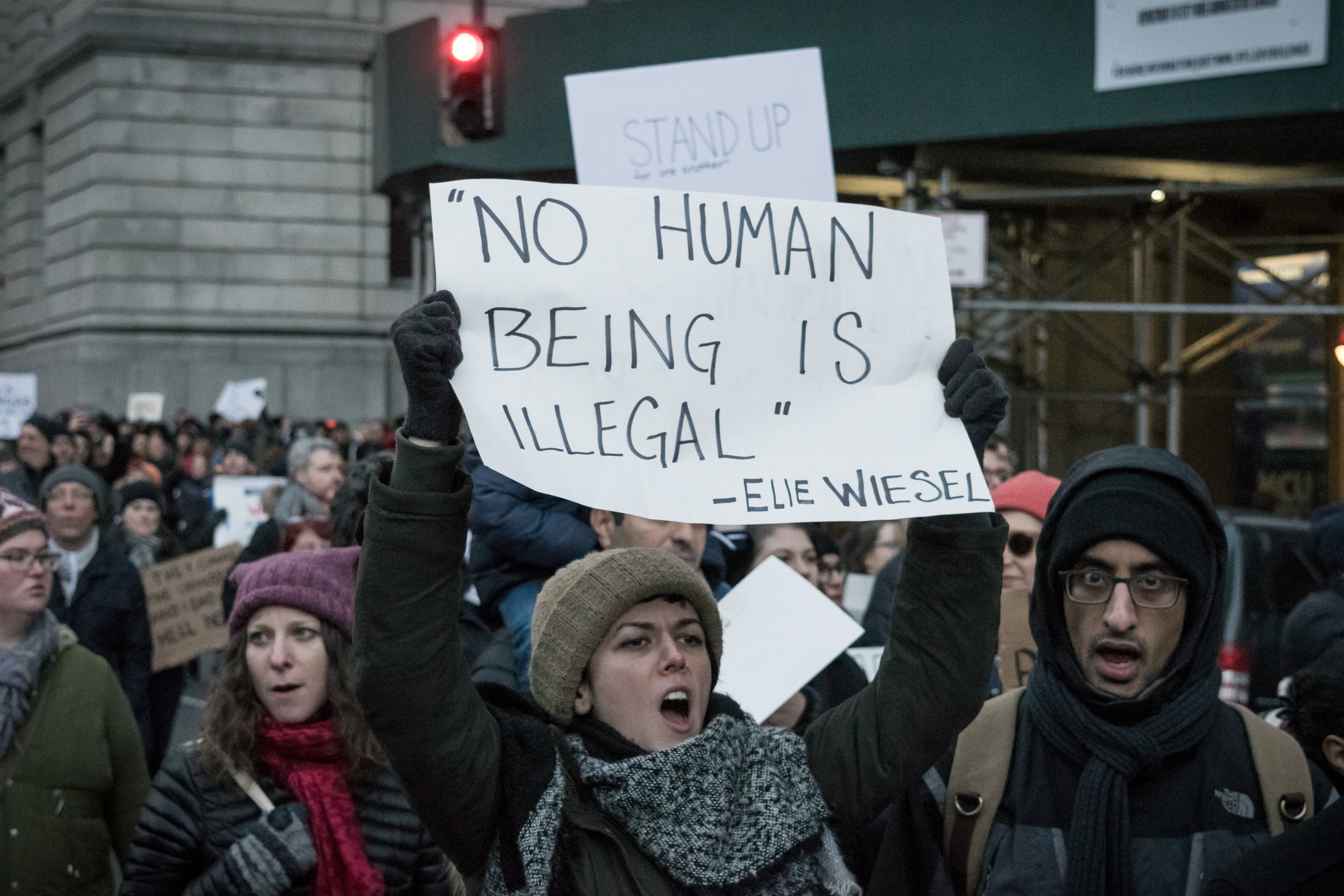 """No Human Being is Illegal"""