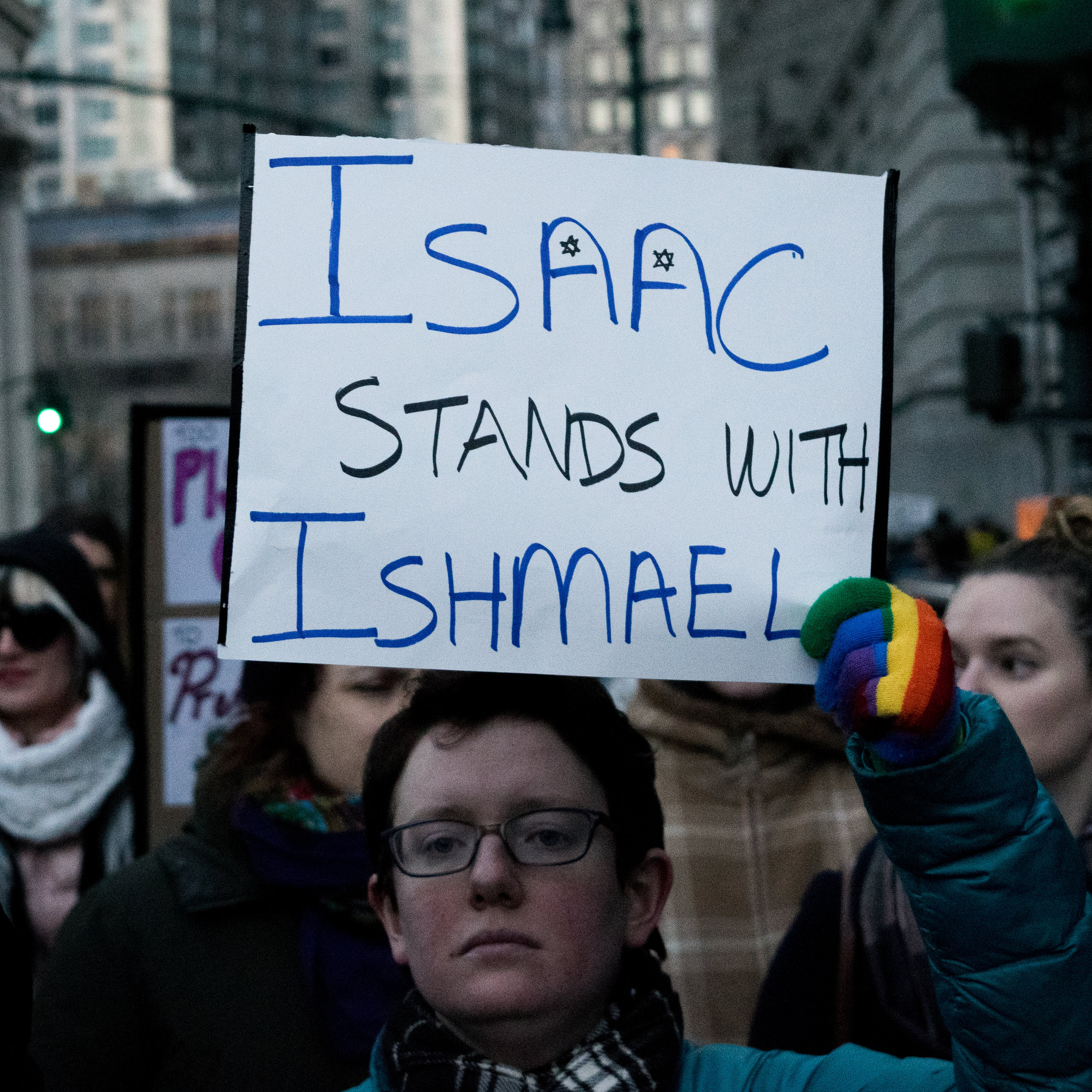 """Isaac Stands with Ishmael"""
