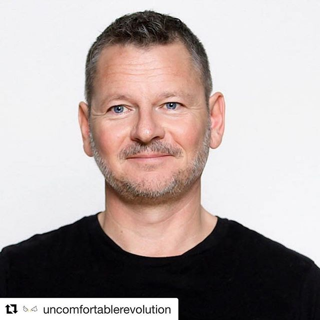 "#Repost @uncomfortablerevolution with @get_repost ・・・ Doctor: ""Brendan I've got good news and bad news."" Brendan ""What's the good news?"" Doctor: ""Your heart's fine, not really a problem."" Brendan: ""Great. What'd the bad news?"" Doctor: ""You have leukemia."" #TalkingAboutCancer . . . Photo of Brendan McDonald @septpiliers taken by @katerine.film.image during filming of videos for @uncomfortablerevolutuon in Brooklyn with @alexandrasl2 January 2018 . . #GlossaryOfAwkward #cancersurvivor #truestory #awkwardconversation #reflections #cancerstory #uncomfortableconversations #uncomfortablemoments #portrait  #cml #cancerhumor #truetale #leukemia #chronicmyeloidleukemia #brendanmcdonald"