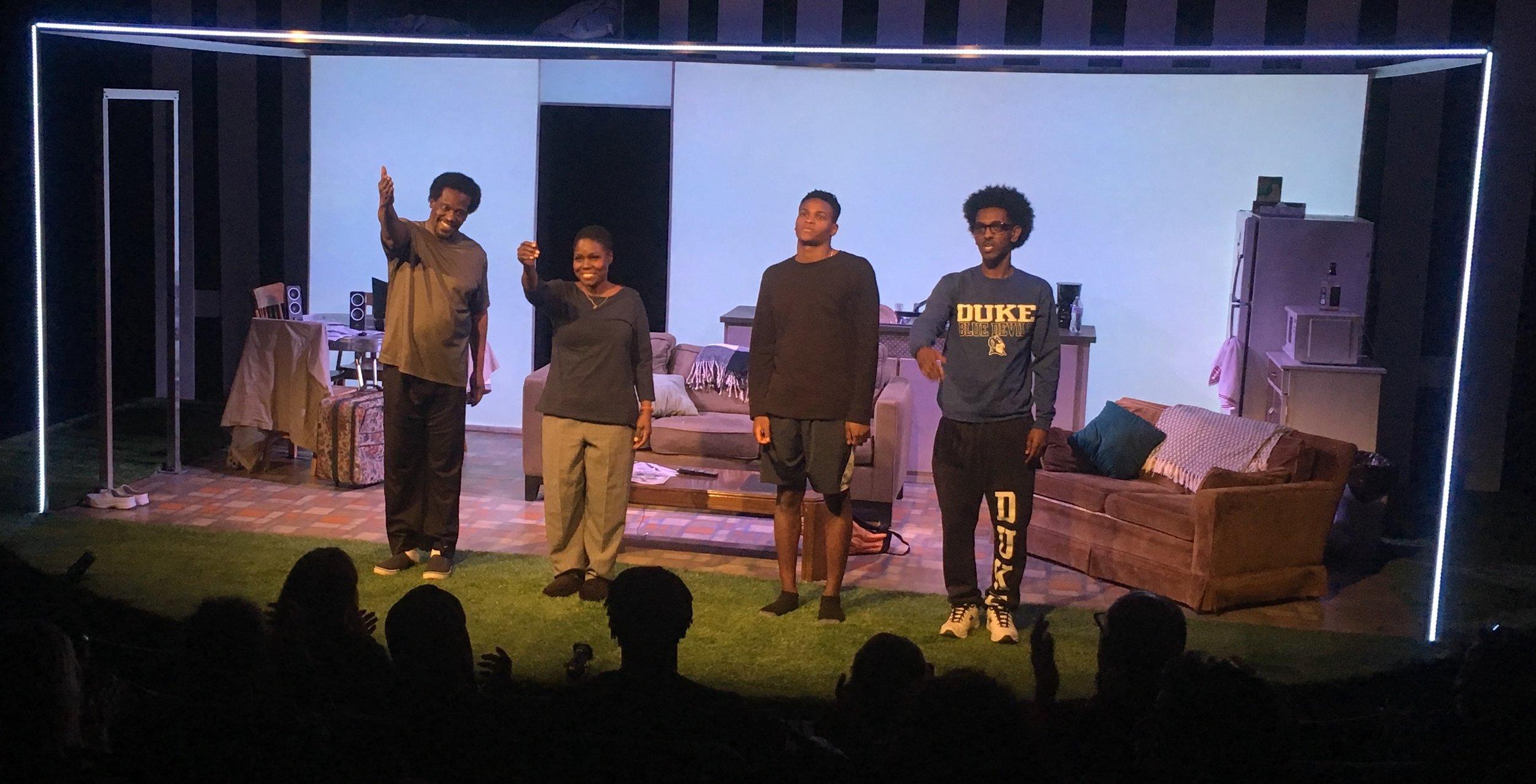 L2R Cast Call: Joseph Primes (Girma Kifle), Gabrielle Lott-Rogers (Elizabeth Kifle), Freedom Martin (Daniel Kifle), Simon Gebremedhin (Johnathan Kifle)