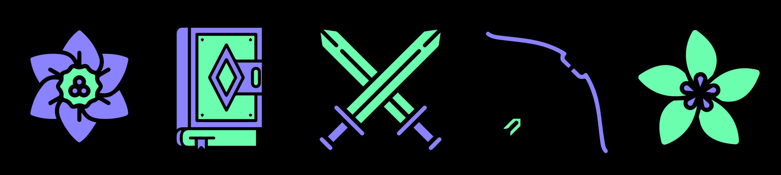 Emerald Dream Swords Spells Archery