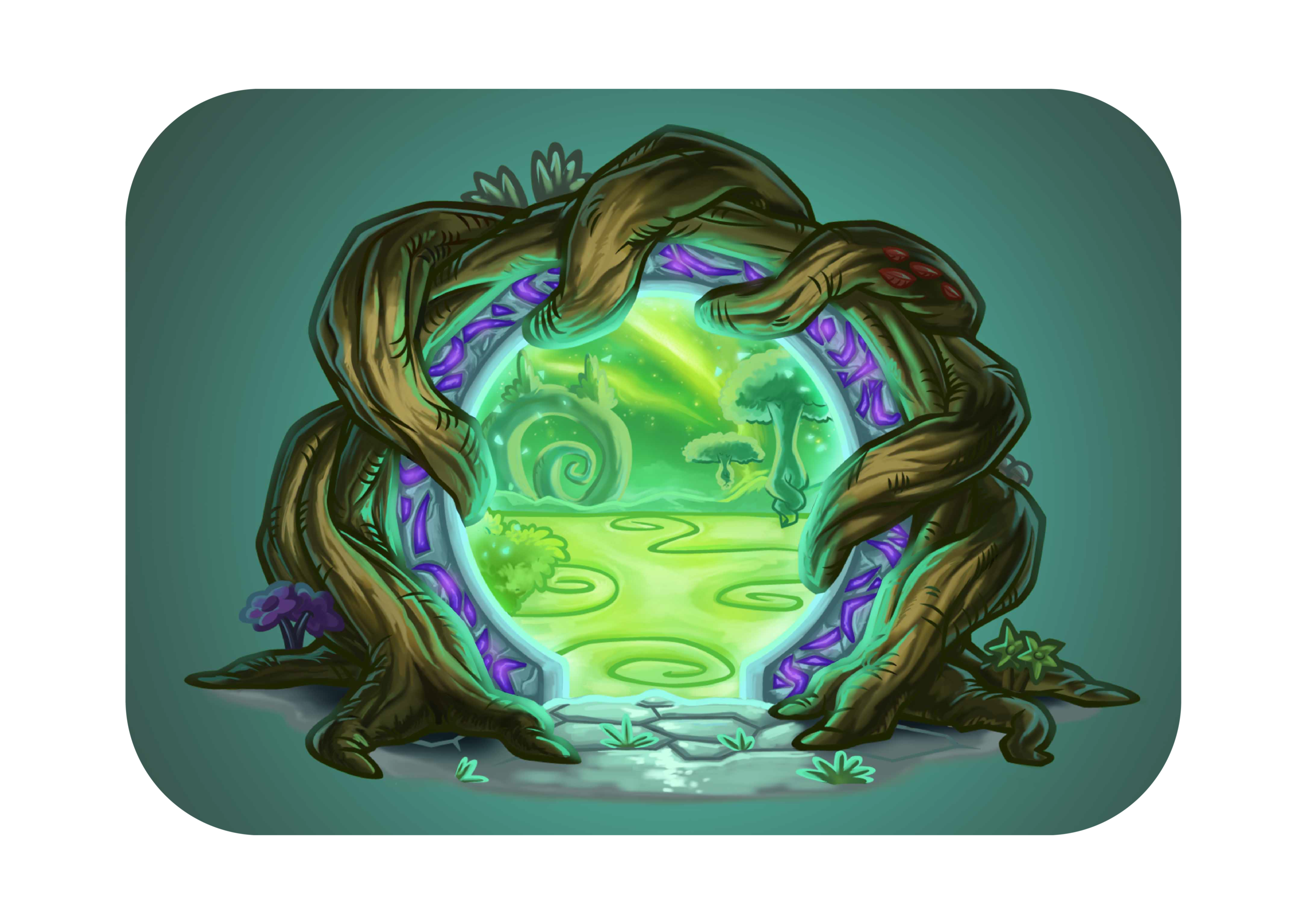 The Emerald Dream Portal by Toonytoons on Fiverr.
