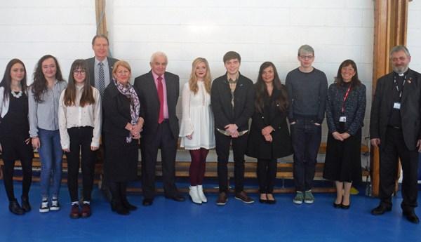 January  2016 Presentation at St John Baptist CiW High School