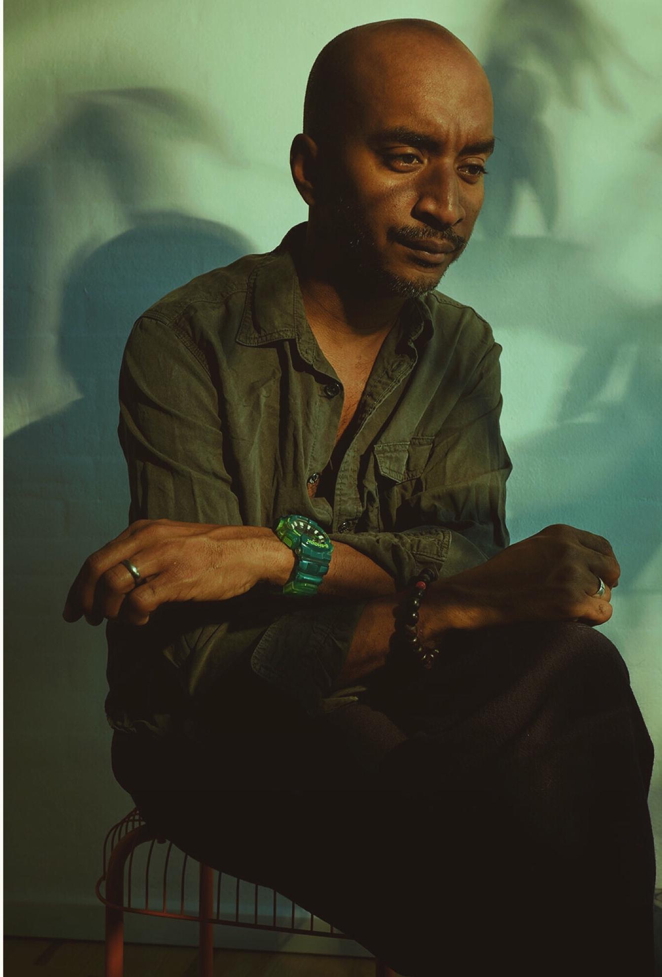 Self portrait of photographer Donald Michael Chambers